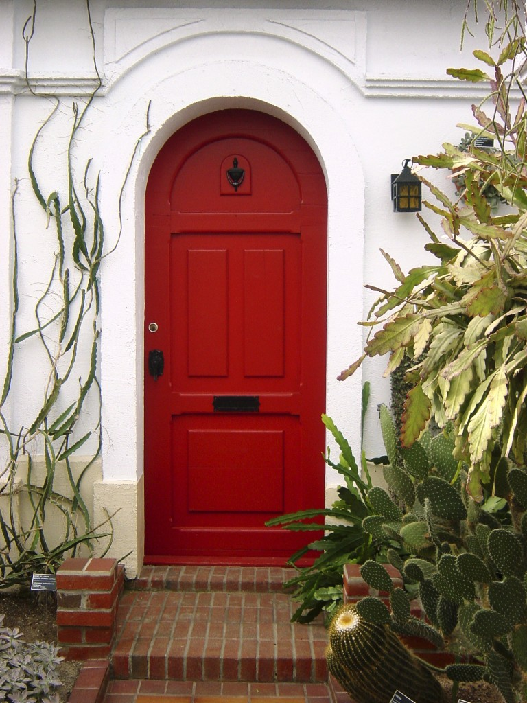 Tradition of Painting Front Door Red : doors painting - Pezcame.Com