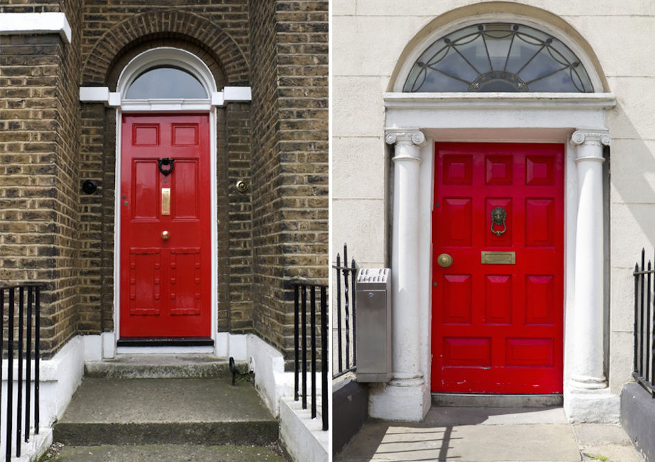 Tradition of Painting Front Door Red