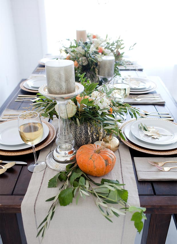 DIY Home | Thanksgiving Centerpiece Inspiration