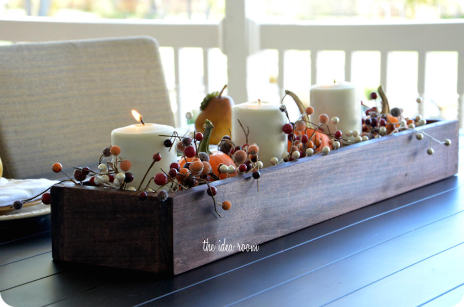 Diy home thanksgiving centerpiece inspiration