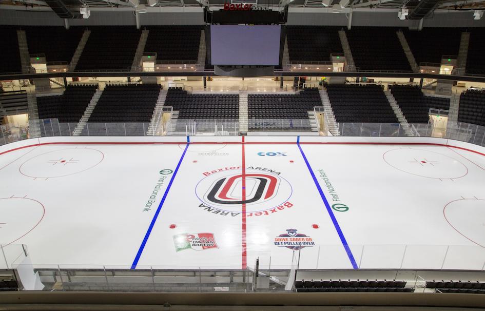 University of Nebraska at Omaha New Baxter Arena