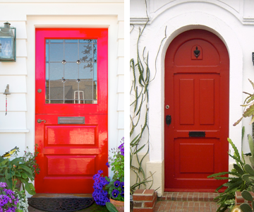 The Tradition Of Painting A Front Door Red What Does It