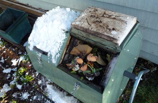 Winter Composting Tumbler