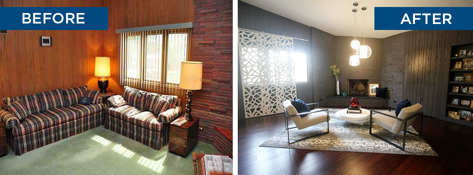 brady bunch house interior pictures. #transformationtuesday | from brady bunch to relaxed modern house interior pictures