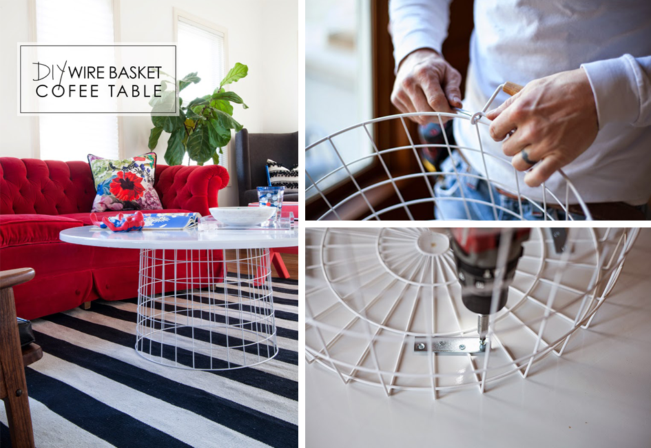 15 DIY Coffee Table Ideas | Personalize Your Living Room