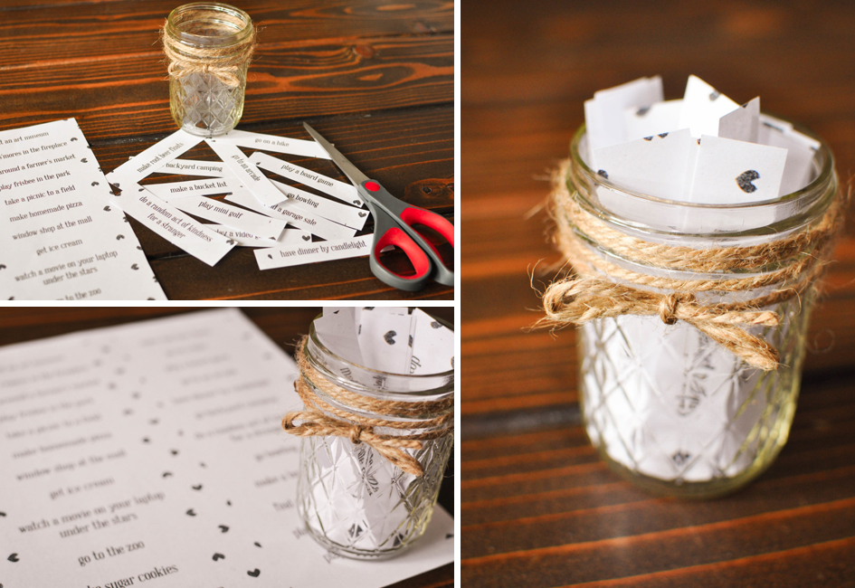 DIY Date Night in a Jar