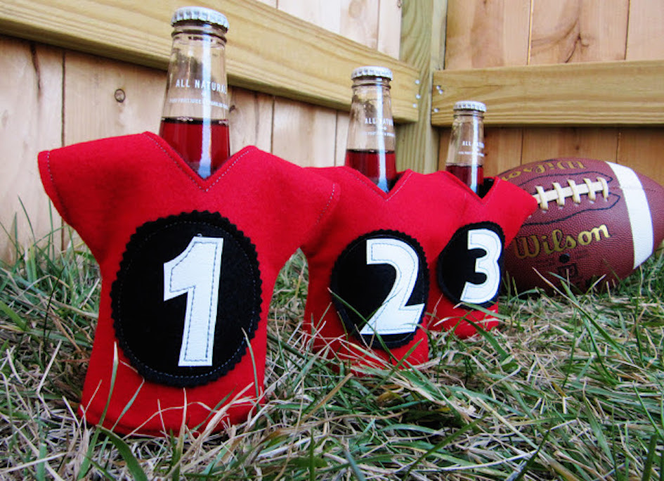 DIY Sports Team Koozies
